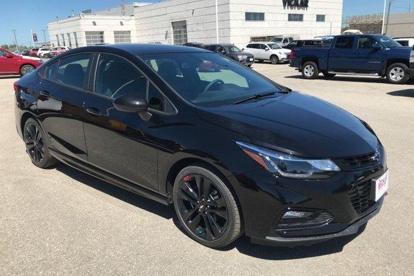 2018 Chevrolet Cruze LT  - Bluetooth -  Heated Seats - $161.72 B/W