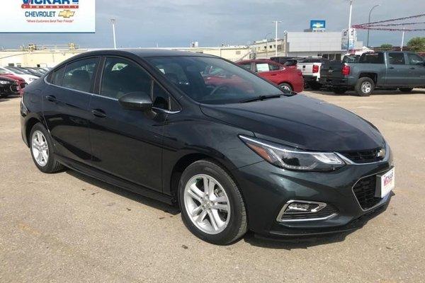 2018 Chevrolet Cruze LT  - Bluetooth -  Heated Seats - $154.91 B/W