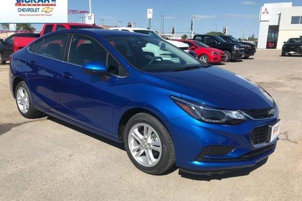 2018 Chevrolet Cruze LT  - Bluetooth -  Heated Seats - $142.79 B/W