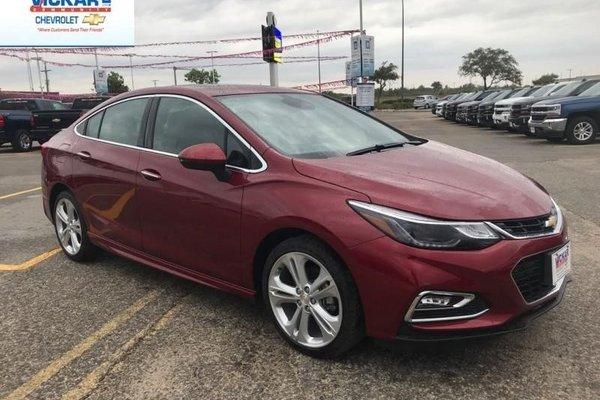 2018 Chevrolet Cruze Premier  - $208.04 B/W