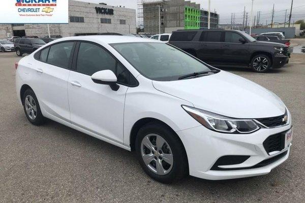 2018 Chevrolet Cruze LS  - $134.90 B/W