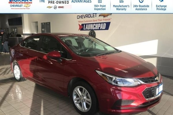 2018 Chevrolet Cruze LT REMOTE START, BOSE, SUNROOF !!!  - $127.17 B/W