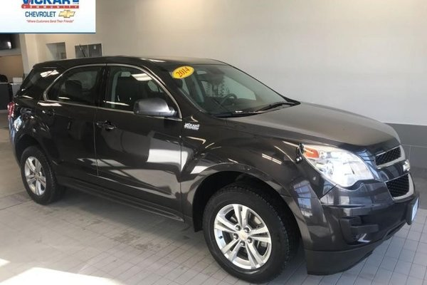2014 Chevrolet Equinox LS Extremely Low Kms- $174 B/W