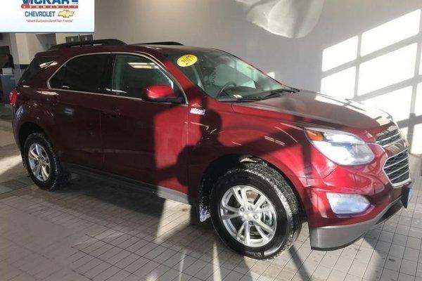 2017 Chevrolet Equinox LT  - Navigation - Sunroof - $179.18 B/W