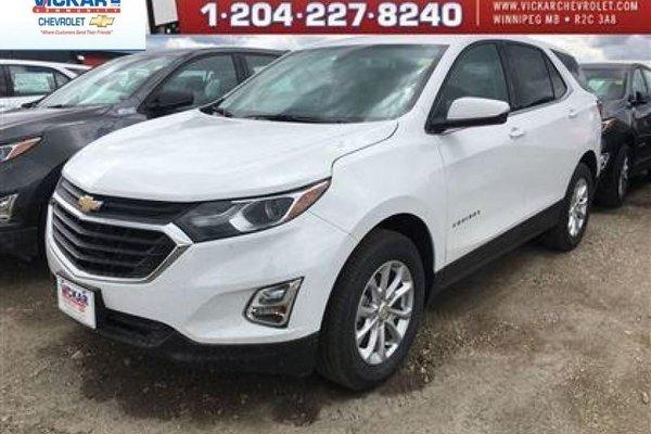 2018 Chevrolet Equinox LT  - Bluetooth -  Heated Seats - $195.70 B/W