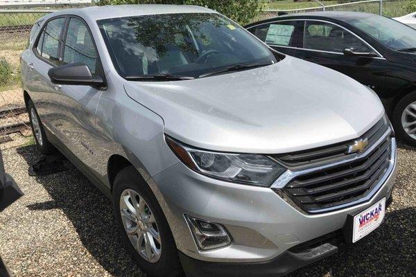 2018 Chevrolet Equinox LS  - Bluetooth -  Heated Seats - $173.30 B/W