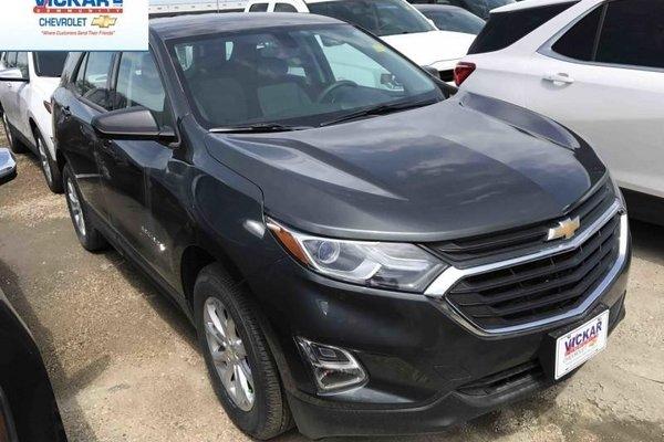 2018 Chevrolet Equinox LS  - Bluetooth -  Heated Seats - $188.60 B/W