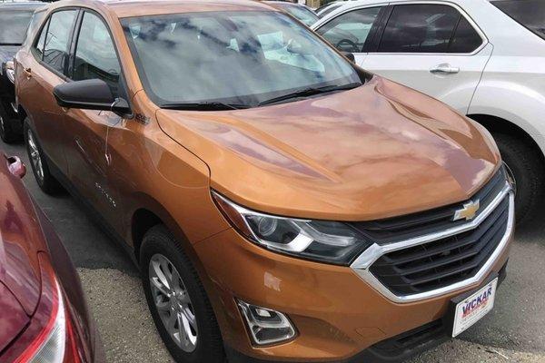 2018 Chevrolet Equinox LS  - Bluetooth -  Heated Seats - $189.17 B/W