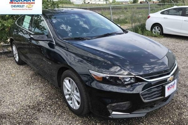 2017 Chevrolet Malibu 1LT  - Bluetooth -  SiriusXM - $163.15 B/W