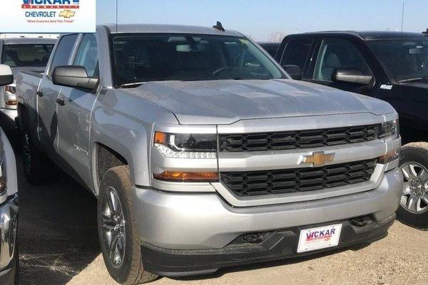 2018 Chevrolet Silverado 1500 Custom  -  Bluetooth - $311.85 B/W
