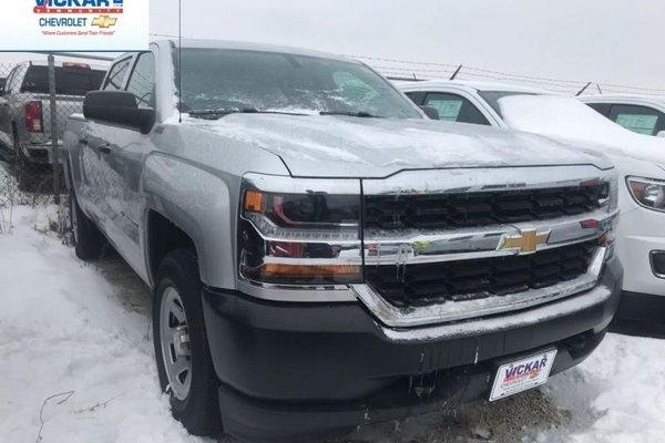 2018 Chevrolet Silverado 1500 Work Truck  - Cruise Control - $281.32 B/W