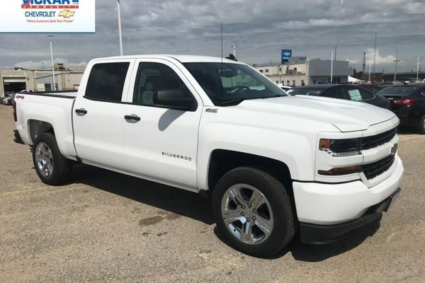 2018 Chevrolet Silverado 1500 Custom  - $299.68 B/W