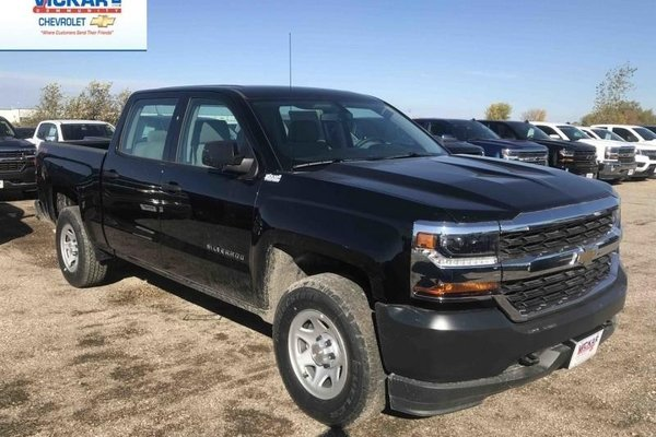 2018 Chevrolet Silverado 1500 Work Truck  - Cruise Control - $267.69 B/W