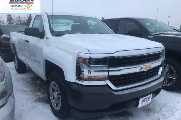 2018 Chevrolet Silverado 1500 Work Truck  - Cruise Control - $174.60 B/W