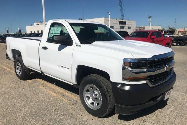 2018 Chevrolet Silverado 1500 Work Truck  - Cruise Control - $192.33 B/W