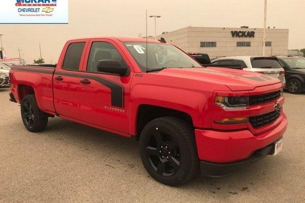 2018 Chevrolet Silverado 1500 Custom  - $263.50 B/W
