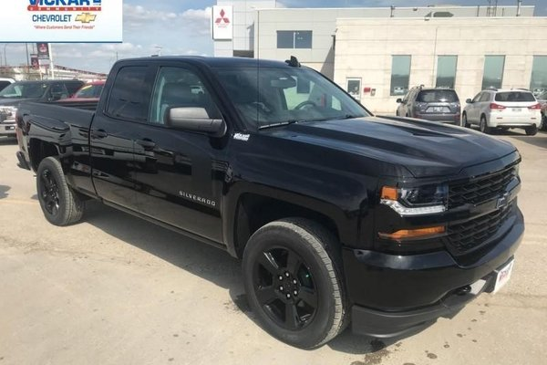 2018 Chevrolet Silverado 1500 Custom  -  Bluetooth - $265.95 B/W
