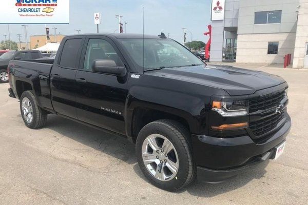 2018 Chevrolet Silverado 1500 Custom  -  Bluetooth - $271.30 B/W