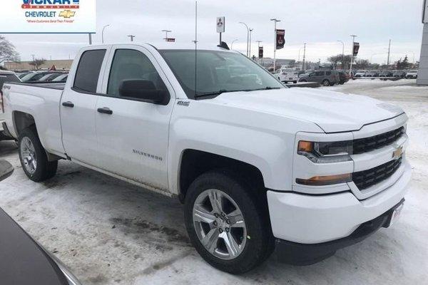 2018 Chevrolet Silverado 1500 Custom  - $254.78 B/W