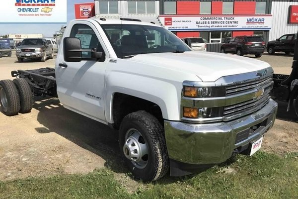2017 Chevrolet Silverado 3500HD Chassis WT  -  Towing Package - $238.37 B/W