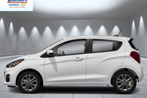 New 2019 Chevrolet Spark 1lt 11109 Bw Summit White For Sale