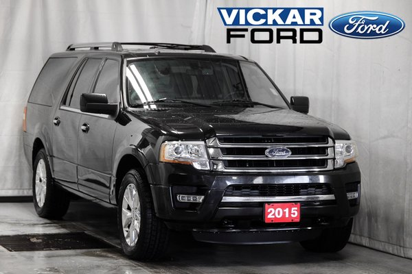 2015 Ford Expedition max Limited Max 8 Passenger Moonroof & Navigation 3.5