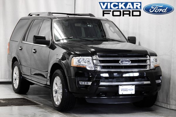 2017 Ford Expedition Limited Certified Save $20k From New & 1.9% Fin Av