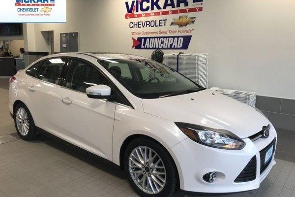 2014 Ford Focus Titanium  - $117.53 B/W