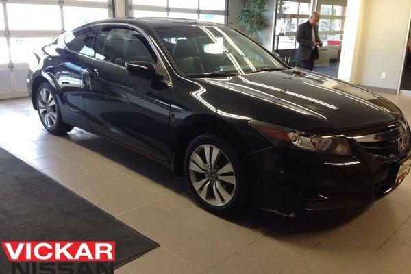 2012 Honda Accord EX-L/NAVI/COUPE/BLACK ON BLACK!!