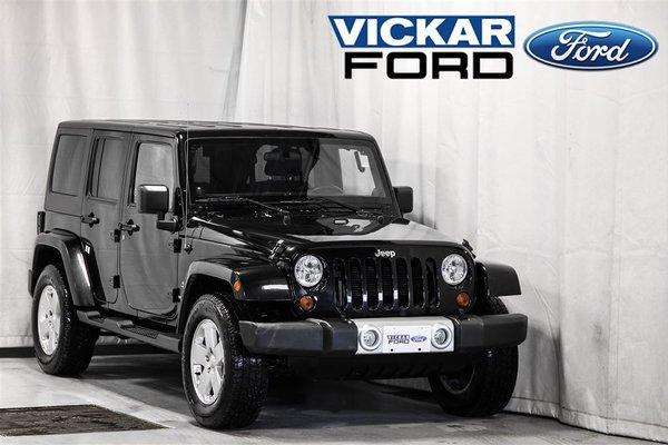 2012 Jeep Wrangler Unlimited Sahara 4D Utility 4WD