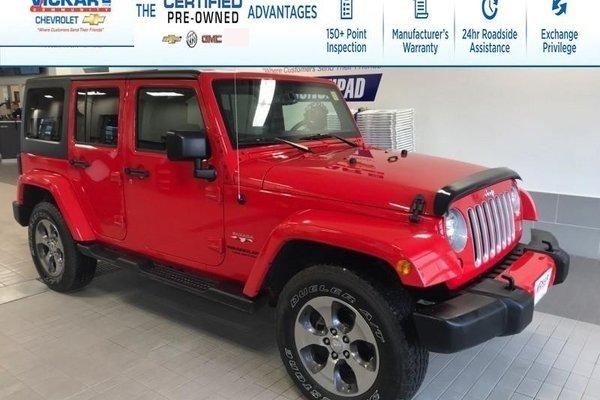 2016 Jeep Wrangler Unlimited Sahara  - $267.50 B/W