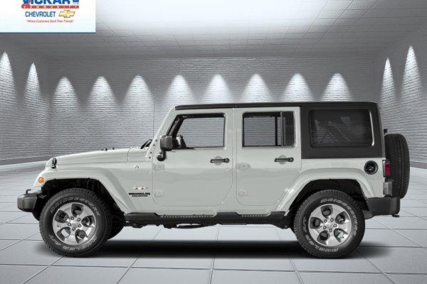 2017 Jeep Wrangler Unlimited Sahara  - Navigation - Low Mileage!