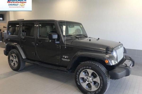 2017 Jeep Wrangler Unlimited Sahara  - Low Mileage - Navigation