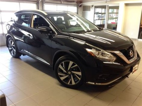 2015 Nissan Murano PLATINUM/BLACK ON BLACK/ LOW KMS!!