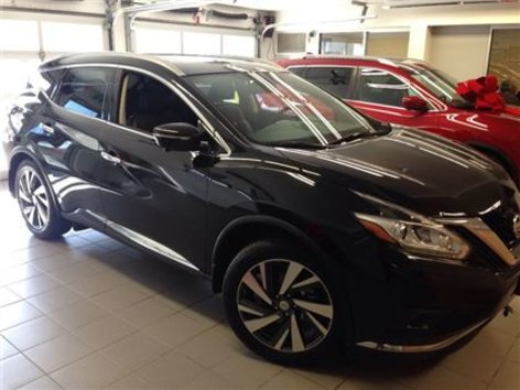 2015 Nissan Murano PLATINUM/1 OWNER LOCAL TRADE/LOW KMS!!