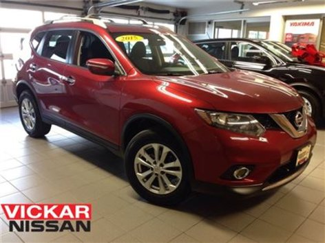 2015 Nissan Rogue SV/1 OWNER LOCAL TRADE!!