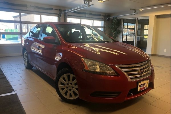 2014 Nissan Sentra 1.8 S *LOCAL TRADE* *LOW KMS*