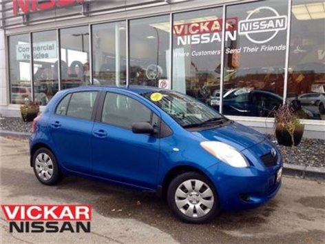 2008 Toyota Yaris LE/LOW LOW KMS/LOCAL TRADE!!