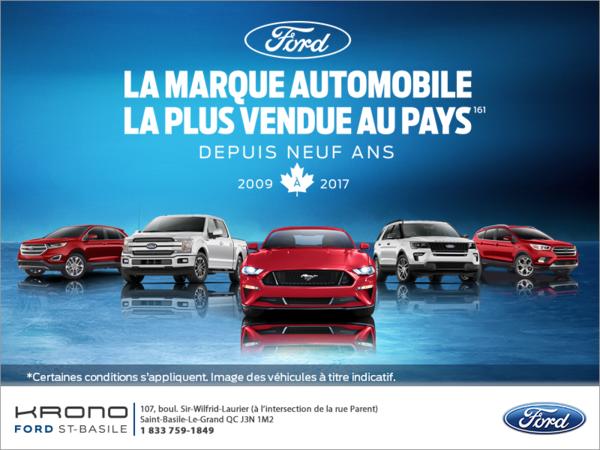 Événement mensuel de Ford