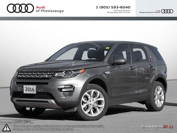 2016 Land Rover DISCOVERY SPORT HSE (2016.5)