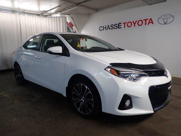 2015 Toyota Corolla S Gr. Technologie - Toit et Mags