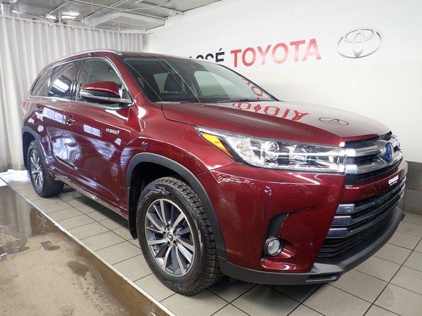 2018 Toyota Highlander Hybrid XLE + Pneus et démarreur