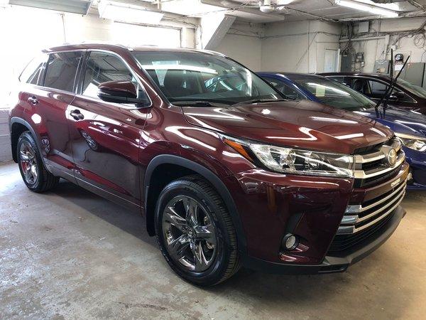 2018 Toyota Highlander Limited - NEUF