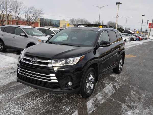 Toyota Highlander Limited AWD *DÉMO* 2019