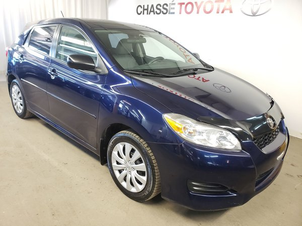 Toyota Matrix Gr. Commodité - Vitres + A/C 2011