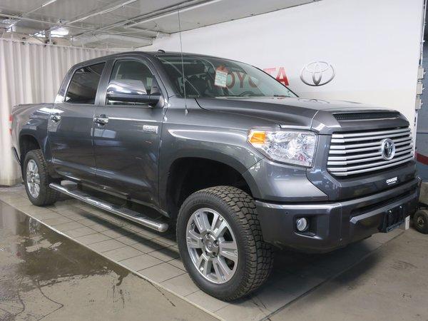 2015 Toyota Tundra CREWMAX PLATINUM + PEA