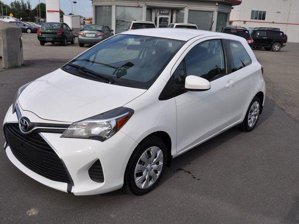 2015 Toyota Yaris CE MANUEL 3 PORTES