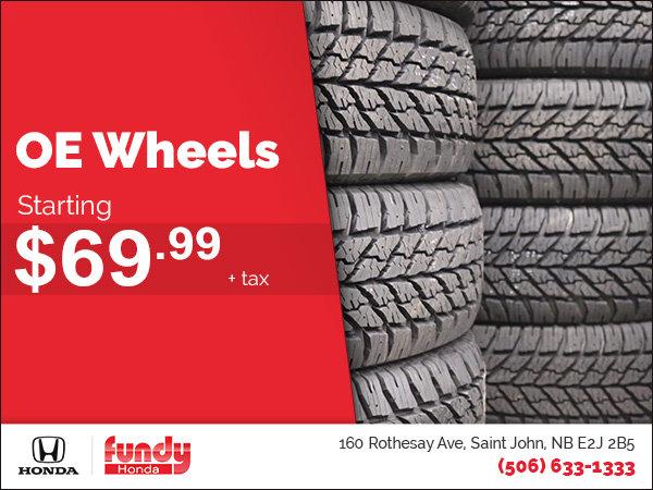 OE Wheels Promotion