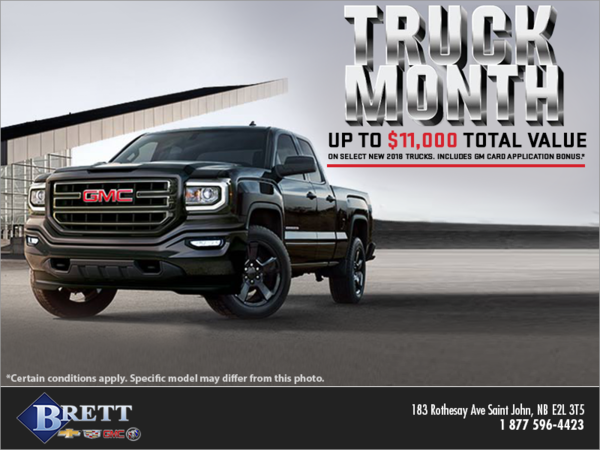 Truck Month Sales Event