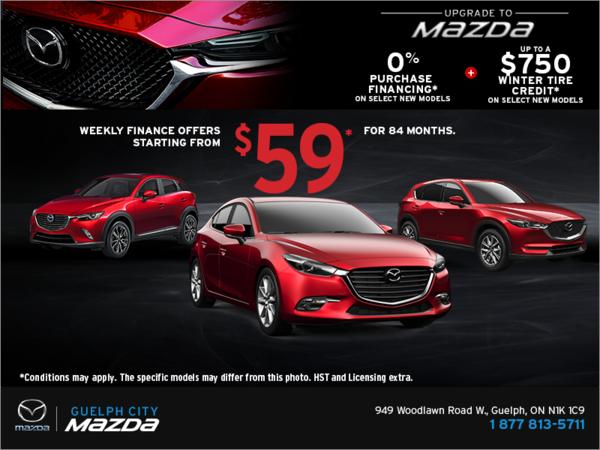 Upgrade to Mazda